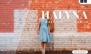 Halyna Desktop and Mobile Lightroom Preset
