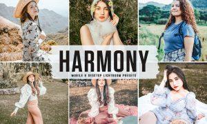 Harmony Mobile & Desktop Lightroom Presets