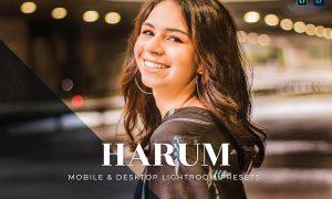 Harum Mobile and Desktop Lightroom Presets