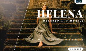 Helena Desktop and Mobile Lightroom Preset