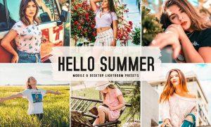 Hello Summer Mobile & Desktop Lightroom Presets