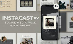 Instacast Social Media Templates BSYJN77