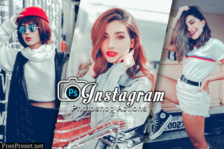 Instagram Fashion Mood Photoshop Actions