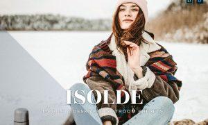 Isolde Mobile and Desktop Lightroom Presets