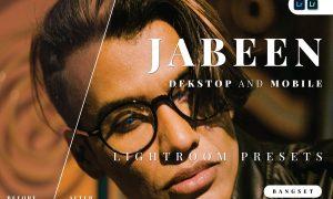 Jabeen Desktop and Mobile Lightroom Preset