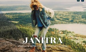 Janitra Mobile and Desktop Lightroom Presets