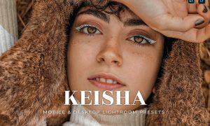 Keisha Mobile and Desktop Lightroom Presets