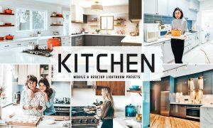 Kitchen Mobile & Desktop Lightroom Presets