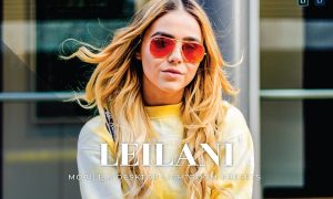Leilani Mobile and Desktop Lightroom Presets