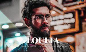 Loulia Mobile and Desktop Lightroom Presets