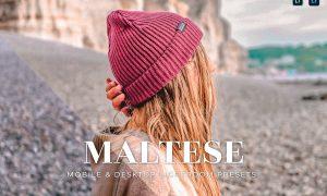Maltese Mobile and Desktop Lightroom Presets