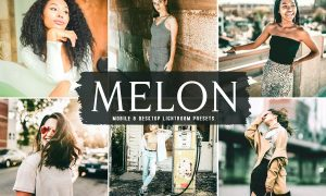 Melon Mobile & Desktop Lightroom Presets