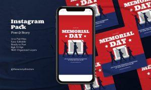 Memorial Day Instagram Pack J6PJDFS