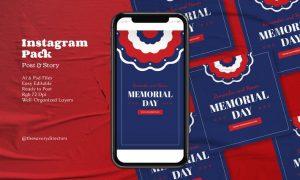 Memorial Day Instagram Pack QM7ES7D