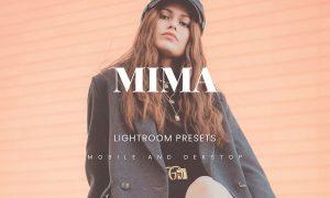 Mima Lightroom Presets Dekstop and Mobile