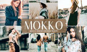 Mokko Mobile & Desktop Lightroom Presets
