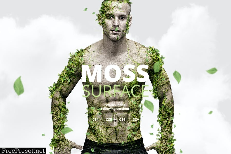 Moss Photoshop Action