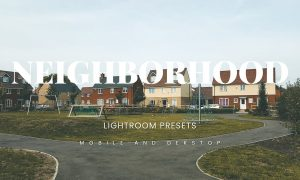 Neighborhood Lightroom Presets Dekstop and Mobile