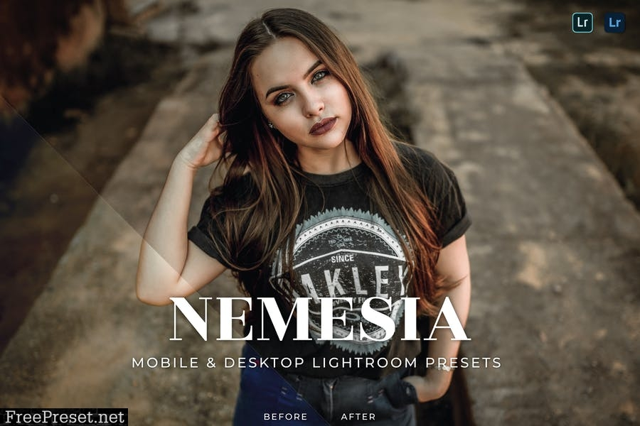 Nemesia Mobile and Desktop Lightroom Presets