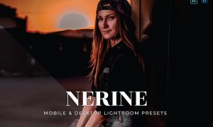 Nerine Mobile and Desktop Lightroom Presets