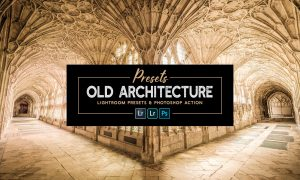 OLD ARCHITECTURE lr Presets & Action 6191151