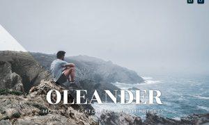 Oleander Mobile and Desktop Lightroom Presets