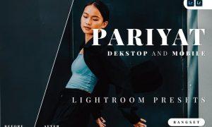 Pariyat Desktop and Mobile Lightroom Preset