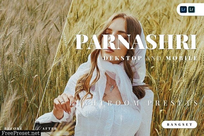 Parnashri Desktop and Mobile Lightroom Preset