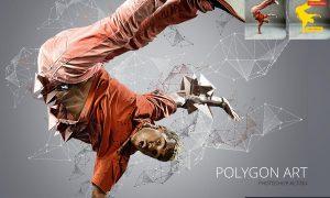 Polygon Art Photoshop Action