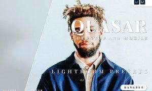 Quasar Desktop and Mobile Lightroom Preset
