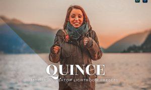 Quince Mobile and Desktop Lightroom Presets