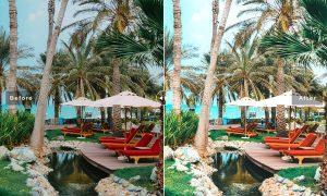 Resort Mobile & Desktop Lightroom Presets
