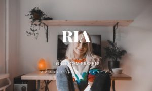 Ria Lightroom Presets Dekstop and Mobile