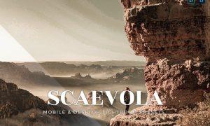 Scaevola Mobile and Desktop Lightroom Presets