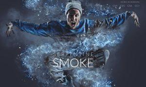 Serpentine Smoke Photoshop Action
