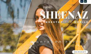 Sheenaz Desktop and Mobile Lightroom Preset