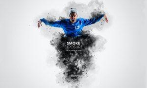 Smoke Exposure Photoshop Action