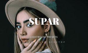 Supar Lightroom Presets Dekstop and Mobile