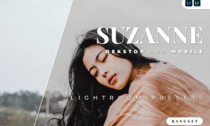 Suzanne Desktop and Mobile Lightroom Preset