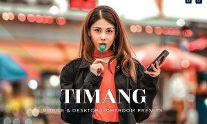 Timang Mobile and Desktop Lightroom Presets