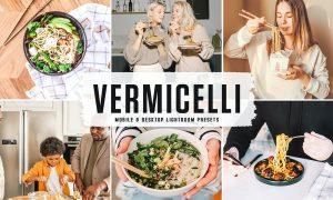 Vermicelli Mobile & Desktop Lightroom Presets