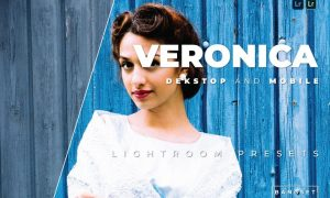 Veronica Desktop and Mobile Lightroom Preset