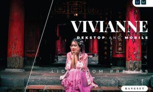 Vivianne Desktop and Mobile Lightroom Preset