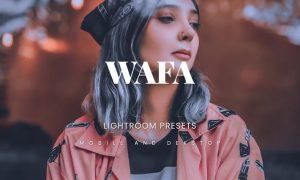 Wafa Lightroom Presets Dekstop and Mobile