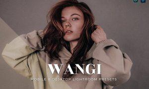 Wangi Mobile and Desktop Lightroom Presets