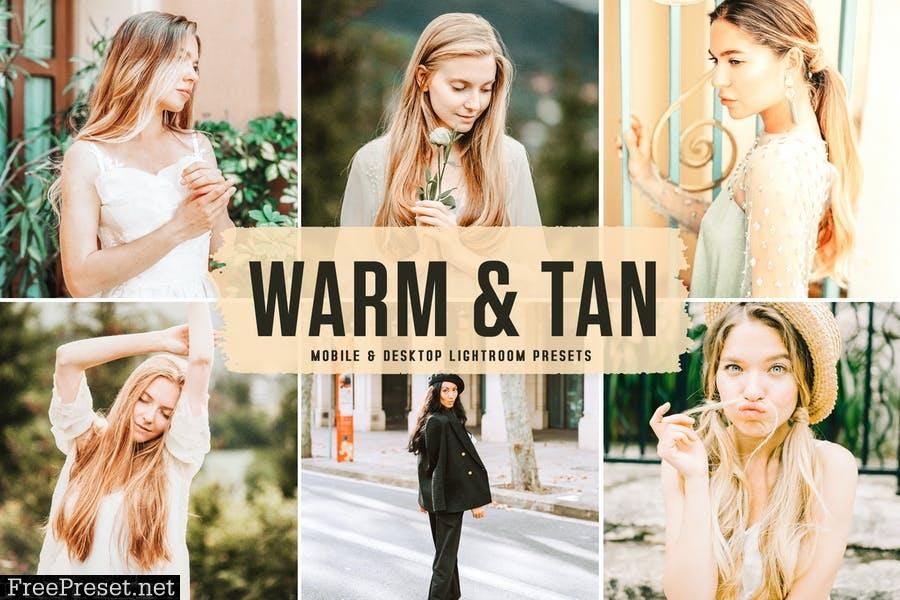 Warm & Tan Mobile & Desktop Lightroom Presets