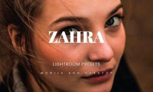 Zahra Lightroom Presets Dekstop and Mobile