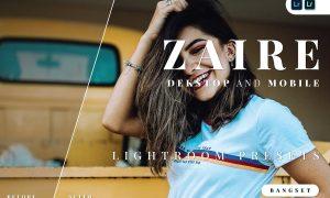 Zaire Desktop and Mobile Lightroom Preset