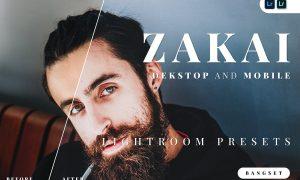 Zakai Desktop and Mobile Lightroom Preset