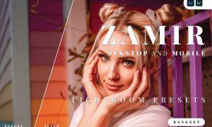 Zamir Desktop and Mobile Lightroom Preset